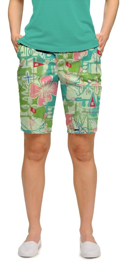 Baffing Spoon StretchTech Women's Bermuda Short MTO