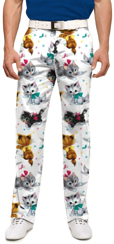 Cute Little Pussy Cats Men's Trouser MTO