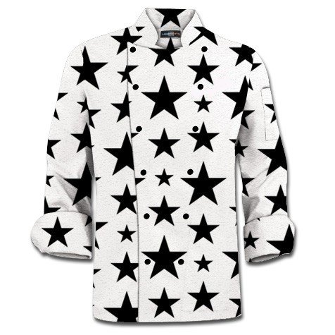 Five Stars Chef Jacket MTO