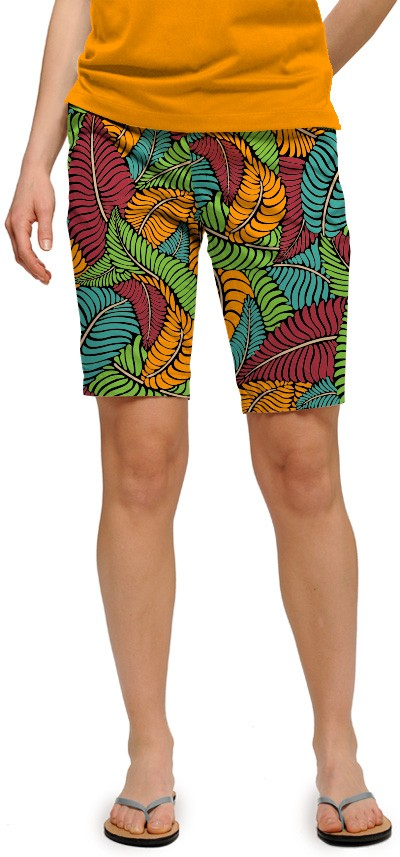 Fronds Klammer Women's Bermuda Short MTO