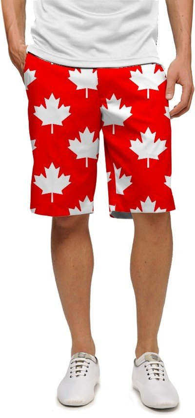 Canada Maple Leaf Red StretchTech Men's Short MTO