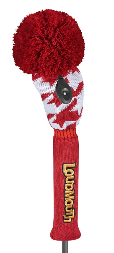 Red Tooth Fairway Knit Head Cover