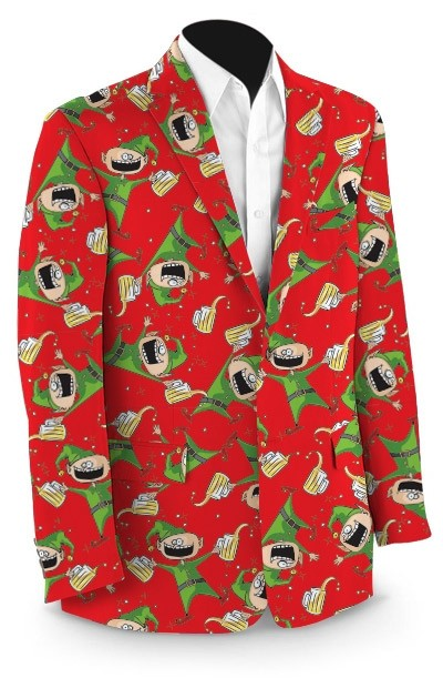 Santa's Little Helpers StretchTech Men's Sport Coat MTO