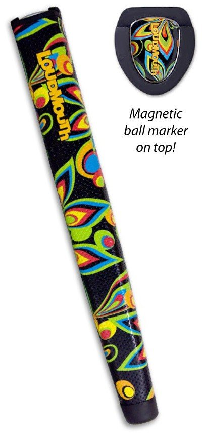 Shagadelic Black Oversize TourMARK Putter Grip