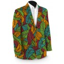 Fronds Klammer Men's Sport Coat MTO
