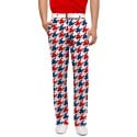 Red & Blue Tooth Men's Trouser MTO