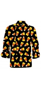 Candy Corn Chef Jacket MTO