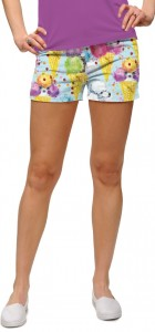 French Poodle Sundae StretchTech Women's Mini Short MTO