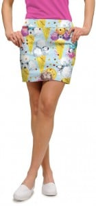 French Poodle Sundae StretchTech Women's Skort/Skirt MTO