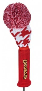 Red Tooth Driver Knit Head Cover