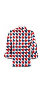 Red & Blue Tooth Chef Jacket MTO