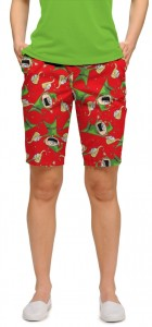 Santa's Little Helpers StretchTech Women's Bermuda Short MTO