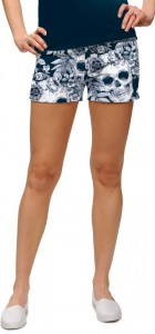 Skull Garden StretchTech Women's Mini Short MTO