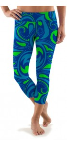 Splash Capri Leggings