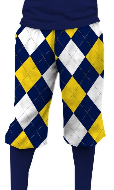 Blue & Gold Mega StretchTech Knickerbockers MTO