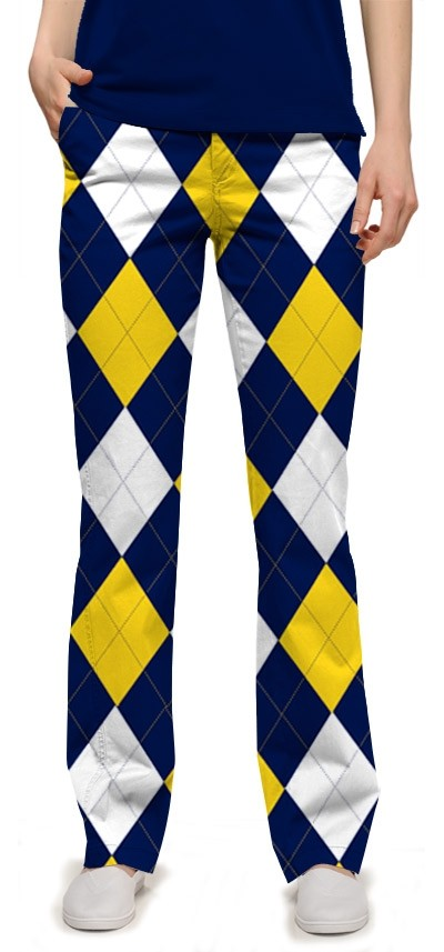 Blue & Gold Mega StretchTech Women's Capri/Trouser MTO