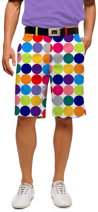 Disco Balls White Men's Short MTO
