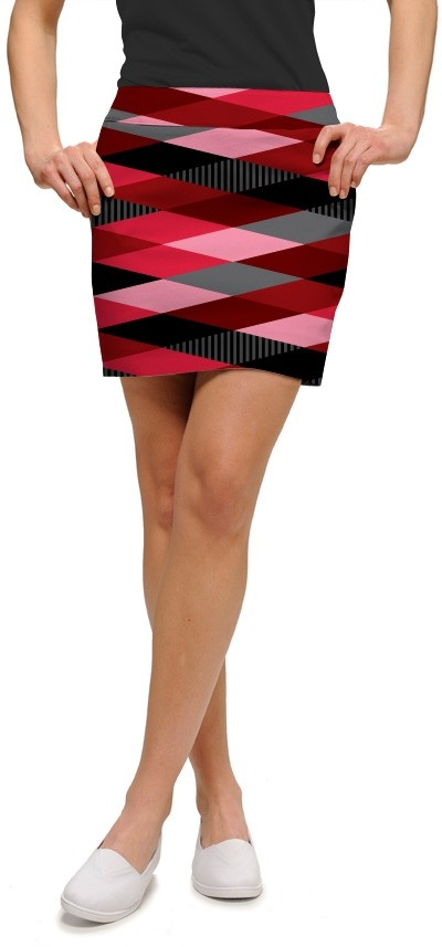 Fore Shades of Red Women's Skort/Skirt MTO