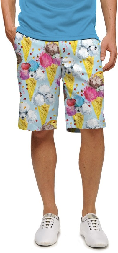 French Poodle Sundae StretchTech Men's Short MTO