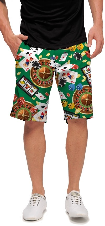 Jackpot Green StretchTech Men's Short