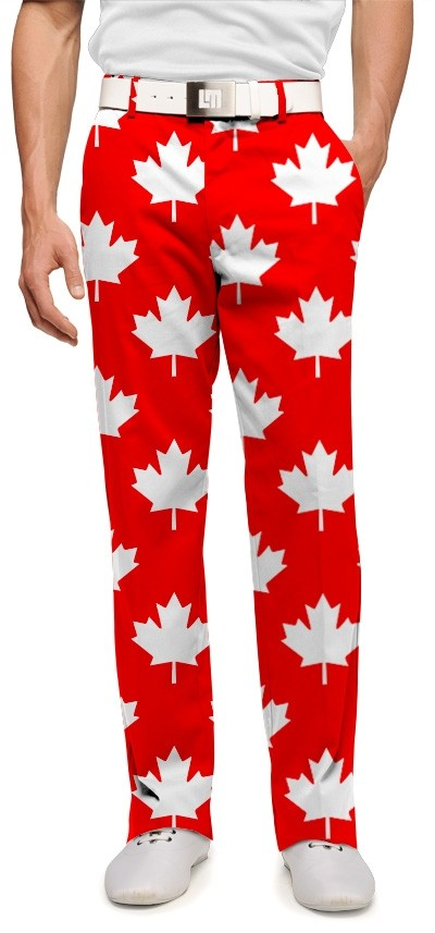 Canada Maple Leaf Red StretchTech Men's Trouser MTO
