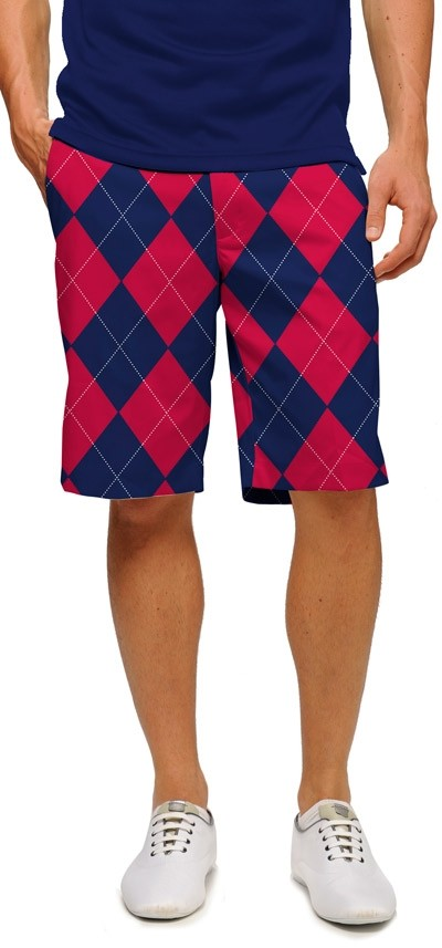 Navy & Red Mega StretchTech Men's Short MTO