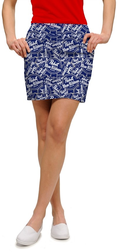 PBR Blue Ribbons Women's Skort/Skirt MTO