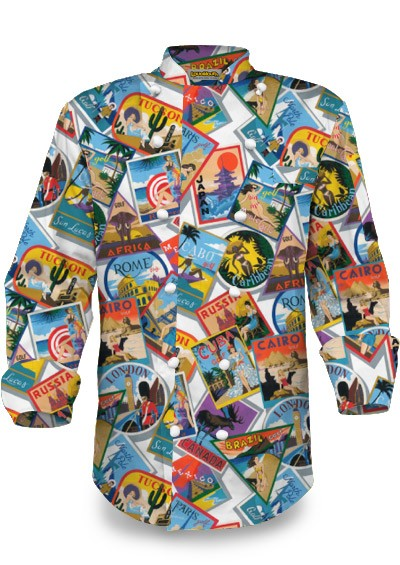 Postcards from the Wedge Chef Jacket MTO