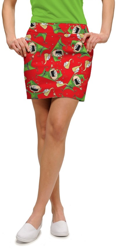 Santa's Little Helpers StretchTech Women's Skort/Skirt MTO