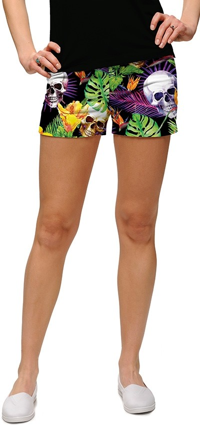 Skull Grotto StretchTech Women's Mini Short MTO
