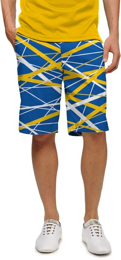 Stix Blue & Gold StretchTech Men's Short MTO