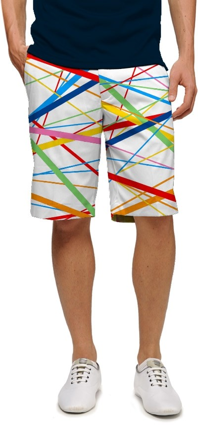 Stix White StretchTech Men's Short MTO
