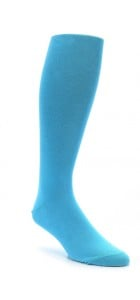 Powder Blue Knicker Socks