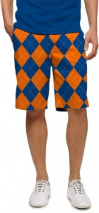 Orange & Blue Mega StretchTech Men's Short MTO