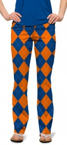 Orange & Blue Mega StretchTech Women's Capri/Trouser MTO
