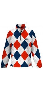 Dixie Half Zip Long Sleeve Windshirt