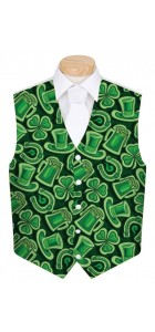 Fore Leaf Clover StretchTech Men's Waistcoat MTO