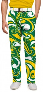 Green & Gold Splash Men's Trouser MTO