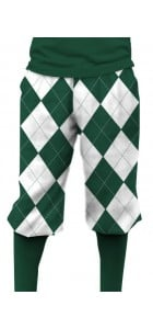 Green & White Argyle Knickerbockers MTO