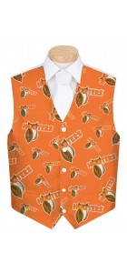 Hooters Orange StretchTech Men's Waistcoats MTO