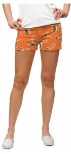 Hooters Orange StretchTech Women's Mini Short MTO