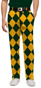 Hunter Green & Gold Mega Men's Trouser MTO