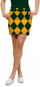 Hunter Green & Gold Mega Women's Skort/Skirt MTO