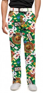 Jackpot Green StretchTech Men's Trouser