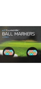 Just Peachy Standard TourMark Ball Marker Replacement 2 Pack