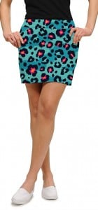 Neon Cheetah StretchTech Women's Skort/Skirt MTO