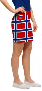 Norway Flag Women's Skort/Skirt MTO