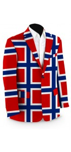 Norway Flag Men's Sport Coat MTO