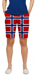 Norway Flag Women's Bermuda Short MTO
