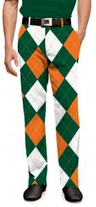 Orange & Green Men's Trouser MTO